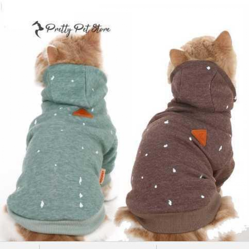 #dog #pets Warm Hoodies for Small Pet