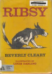 @GailSimone Ribsy by Beverly Cleary #FirstNovel