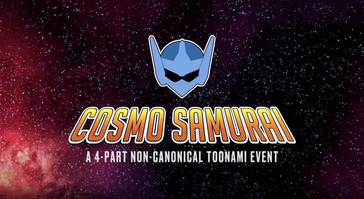 #CosmoSamurai is now available to watch in it's entirety on @adultswim's YouTube channel!  #Toonami