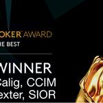 Image for the Tweet beginning: Congratulations Jeffrey Calig, CCIM &