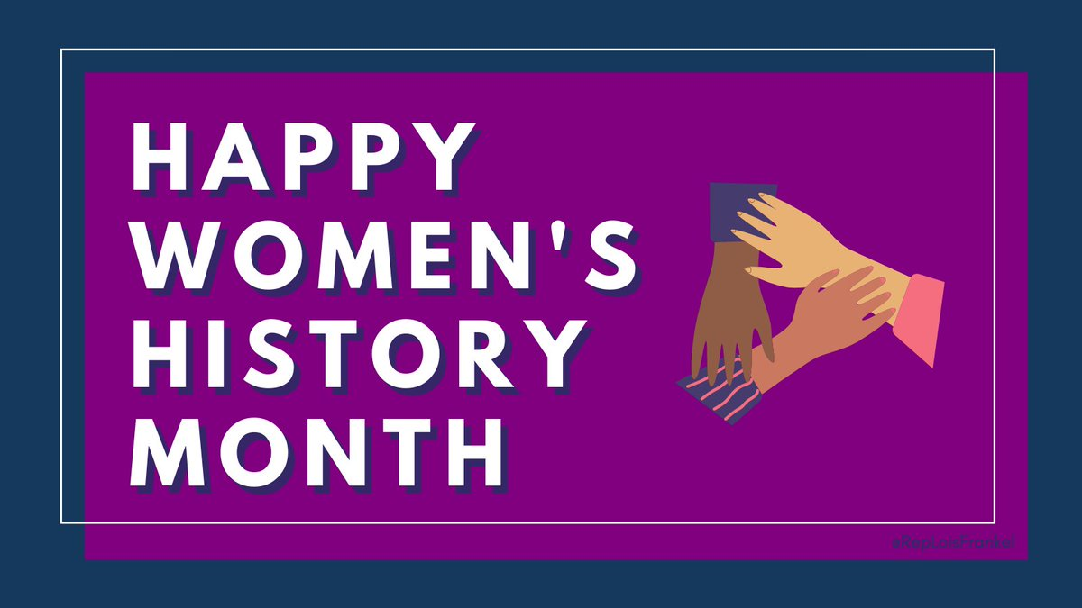When women and girls succeed, the world succeeds. This #WomensHistoryMonth and always, I celebrate the women whose shoulders I stand on who made all our accomplishments possible today.