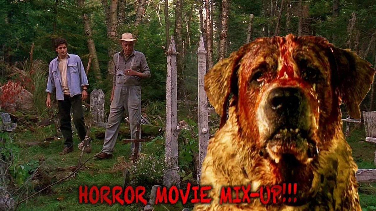 It's Horror Movie Mix-up Monday time! Name the out of place character and the movie he's ended up in! #horror #horrormoviemixupmonday #horrormovies #quiz #games #guessthemovie #guessthecharacter #Animal #MondayMood #mondaythoughts #HorrorMovies #HorrorCommunity