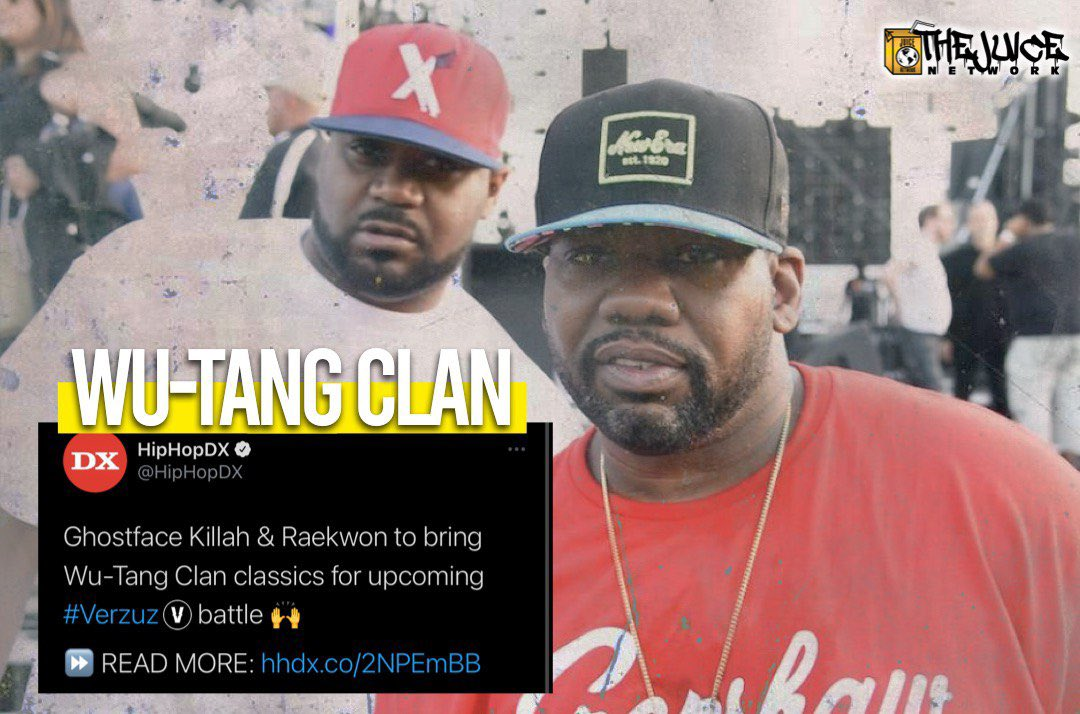 Ghostface Killah & Kaekwon have said they are bringing the Wu-Tang Clan classics for upcoming #Verzuz battle 🔥🔥 •• #WuTangClan #TheJuiceNetwork