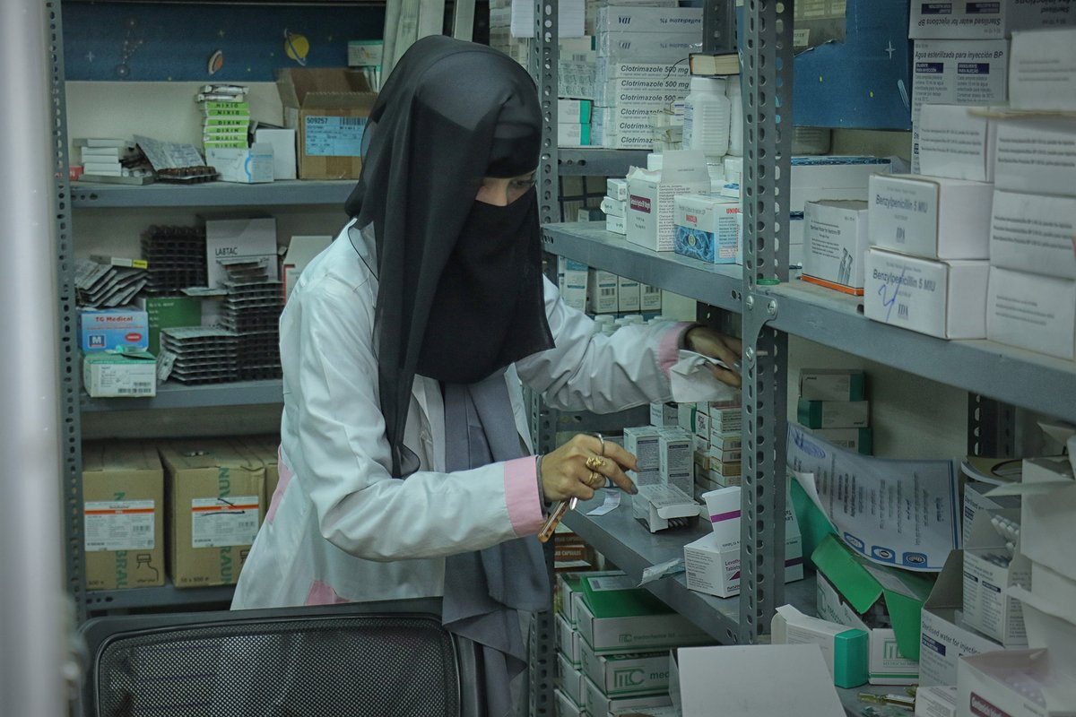 WHO thanks partners & donors incl.  @JapanGov @UAEAid  @MOFAkr_eng #Kuwait🇰🇼 @eu_echo @UNCERF  for their solidarity and contribution in providing essential & lifesaving health services for vulnerable population across #Yemen🇾🇪  #YemenCantWait