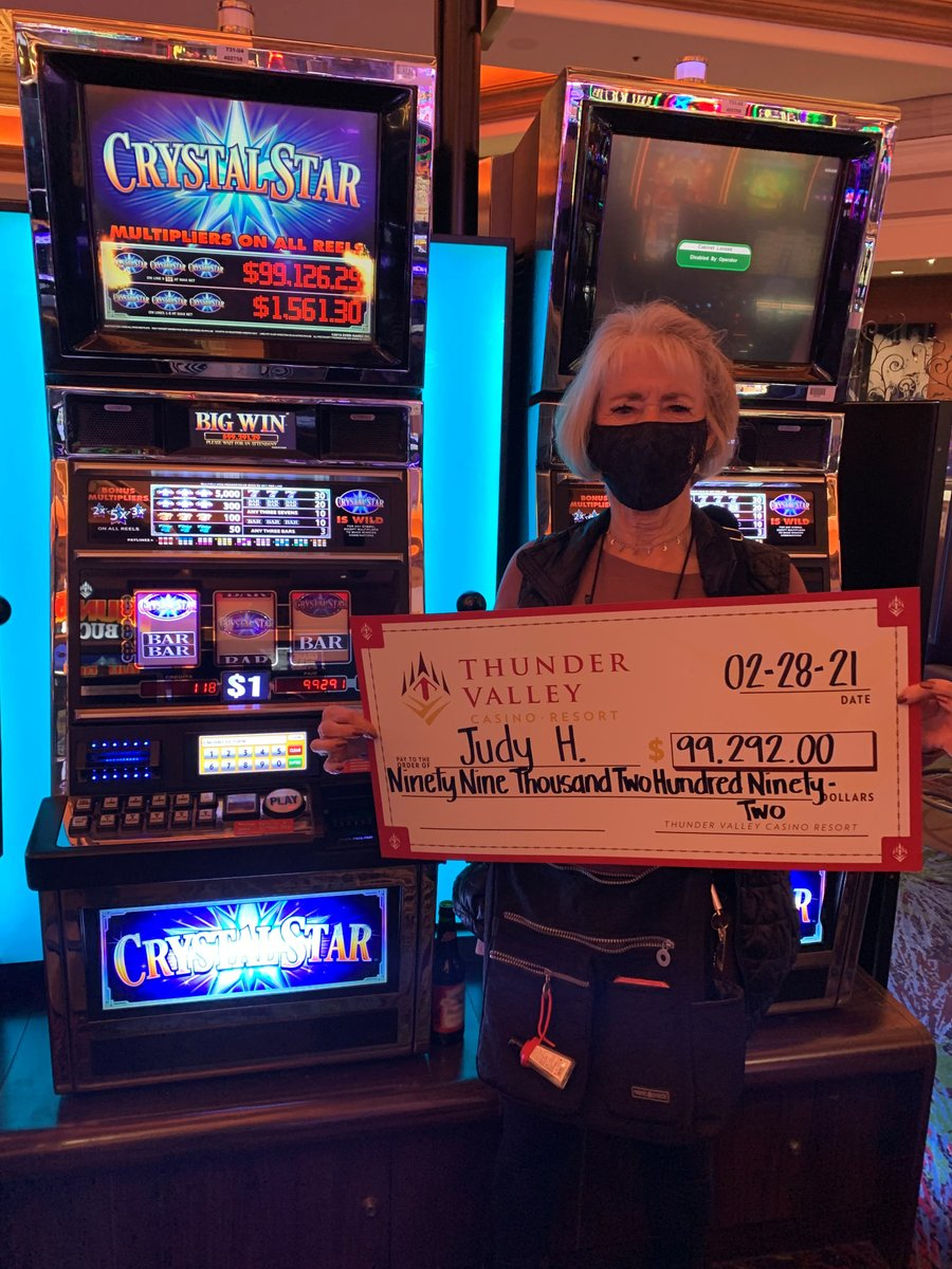 The stars aligned last night for Judy on Crystal Star when she took home a $99,292 jackpot! ⭐ 🎰 🎉 💰