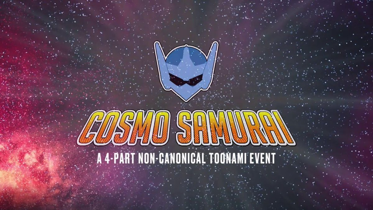 Replying to @Crunchyroll: NEWS: Adult Swim Posts Cosmo Samurai Toonami Event Online  ✨MORE: