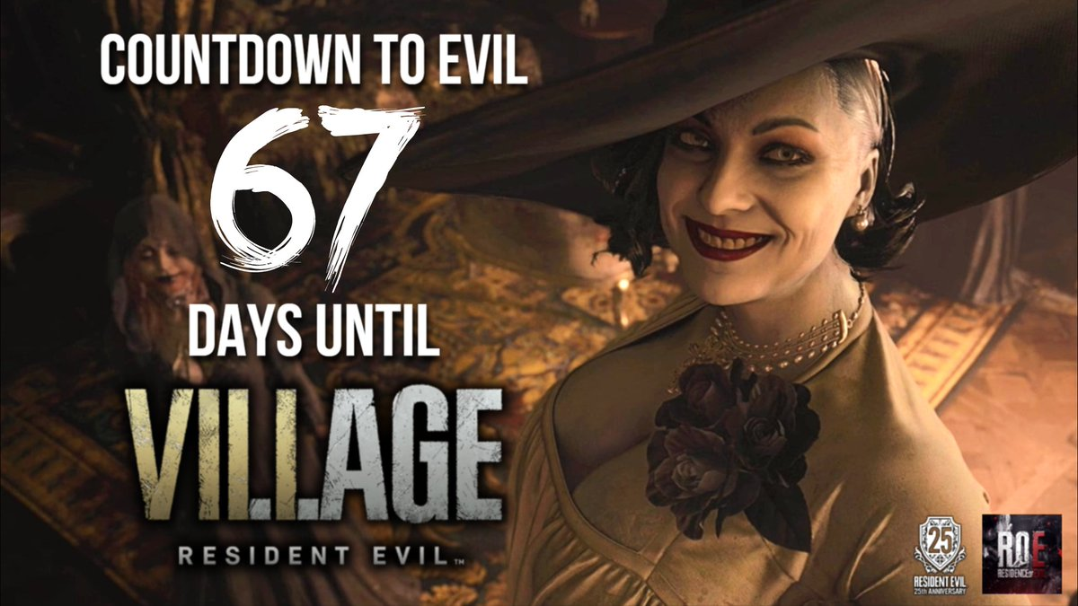 67 days to #ResidentEvilVillage!   Keep an eye out for todays mod showcase involving Ada!  Then tonight I'll post 2 more pages of Romero's #RE movie script!  - Xander  Links to everything RoE:   #REBHFun #RE8 #ResidentEvil8 #ResidentEvil8Village #RE8Village