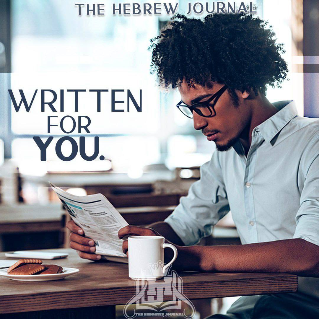 What do you mean you haven't grabbed your copy of #TheHebrewJournal yet? Visit  and get your copy today or visit a #sanctuary near you to buy a physical copy and #support #TheTruth.