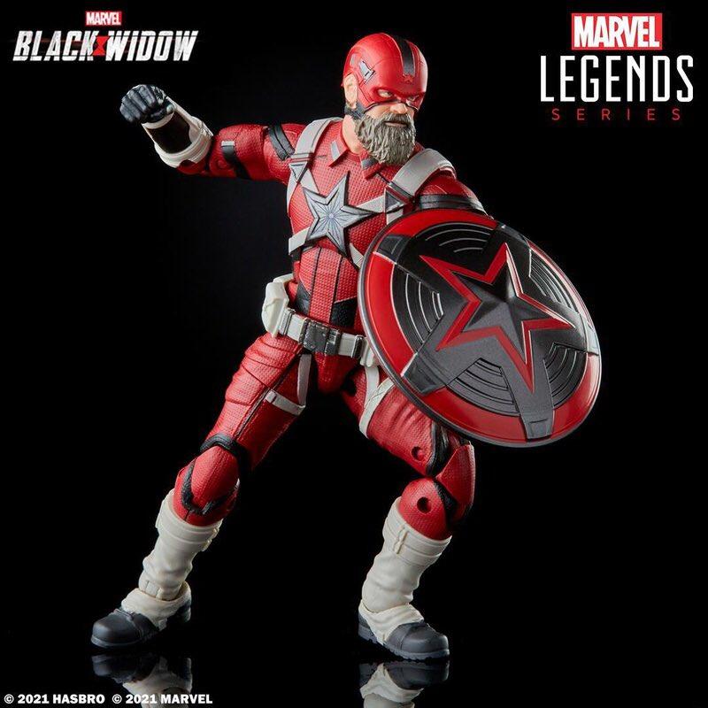 """Novos brinquedos do """"Marvel Legends"""" da linha #BlackWidow mostram (FINALMENTE!) Melina Vostokoff e Alexei Shostakov... Segurando um brinquedo dele mesmo?"""