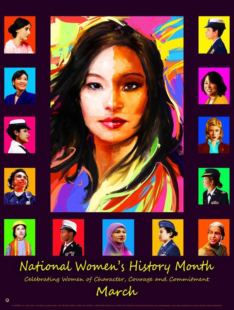 Celebrate March, #WomensHistoryMonth