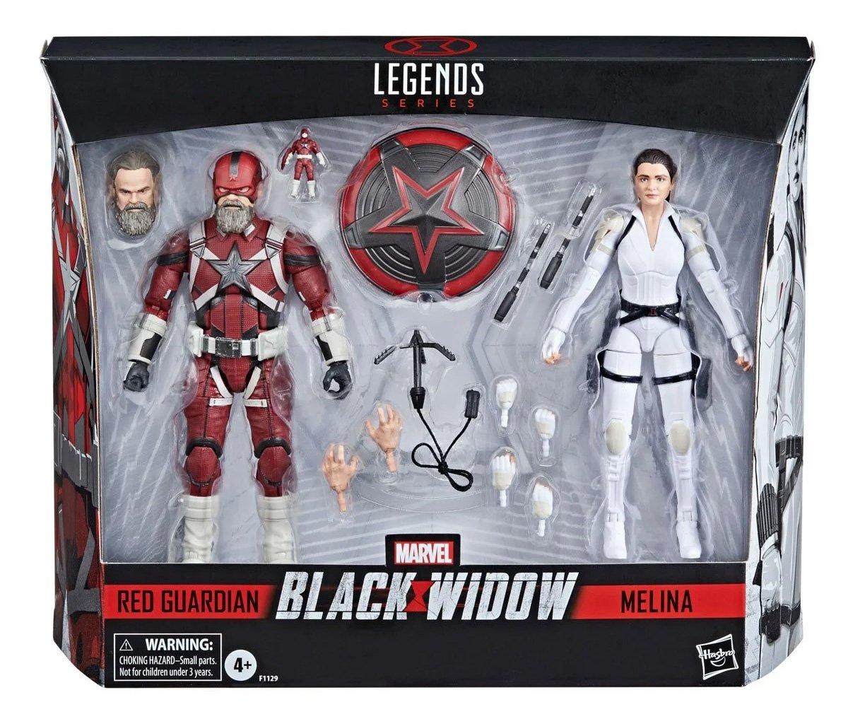 Nuevo merchandising de #BlackWidow con #RedGuardian y #Melina.