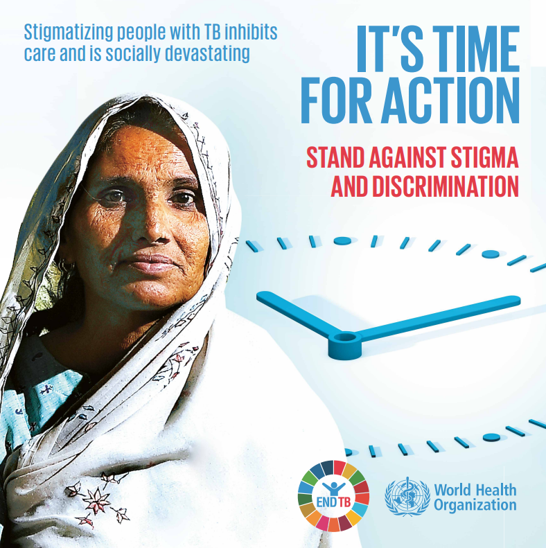People living with #tuberculosis also face discrimination. Stigmatizing people with TB can prevent those most in need from accessing prevention, treatment and care services. It is also socially devastating.  It's time for action! Stand against stigma!  #ZeroDiscrimination