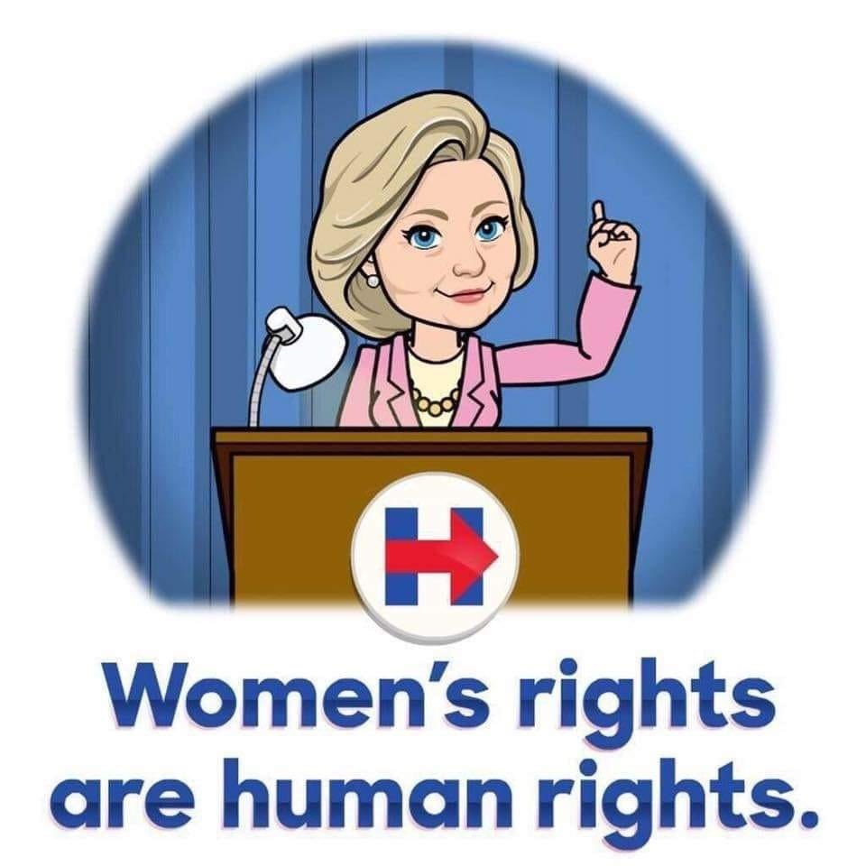 Thank you @HillaryClinton #WomensHistoryMonth