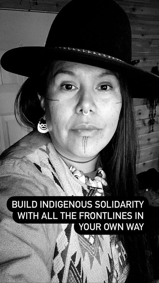 @350Vancouver @CoastProtectors IDLE NO MORE CALLS ON ALL PEOPLE TO JOIN IN A PEACEFUL REVOLUTION  TO HONOUR INDIGENOUS SOVEREIGNTY AND TO PROTECT THE LAND AND WATER AND SKY #RiseUp #BeyondPolitics #FridaysForFuture #StopEcocide #SystemChange>#ClimateJustice>#ClimateAction #TellTheTruth👏