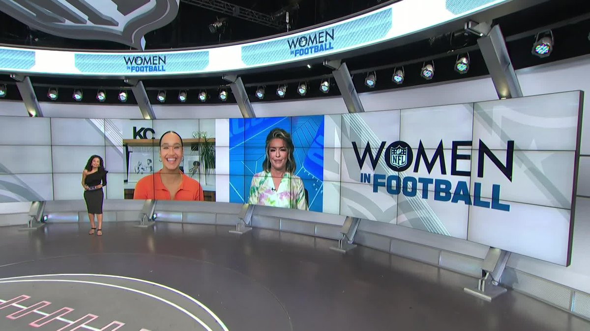 Today is the first day of #WomensHistoryMonth 👏  @MJAcostaTV, @kimmichex and @colleenwolfe on the evolution and impact of women in sports.  📺: @NFLTotalAccess