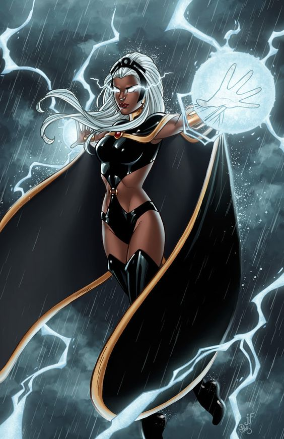 It is #WomensHistoryMonth and as such I will be posting some of the greatest women in #comics... so OF COURSE we start off with the Goddess herself, STORM (Ororo Munroe)!