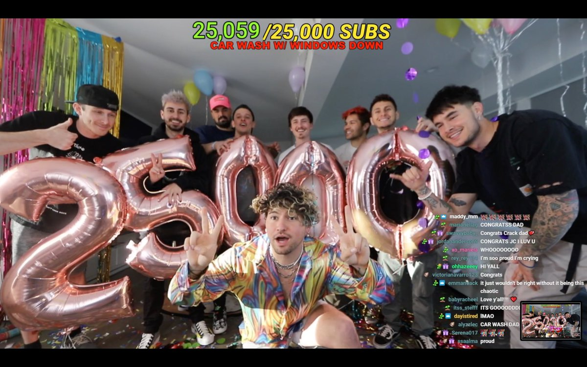CONGRATS ON 25,000 JUSTIN!!!!!!!!!! @jccaylen #weloveyoujc