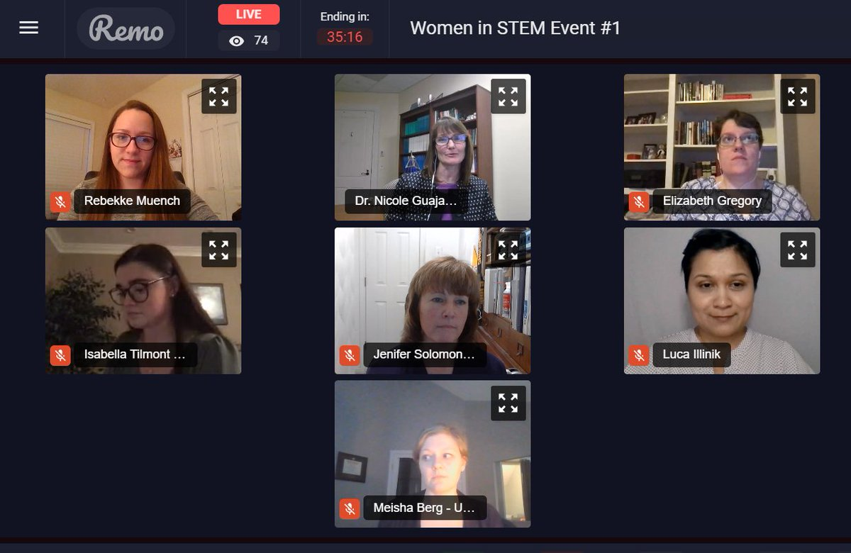 Great to be a part of a fantastic panel of #WomenInSTEM to kick-off #WomensHistoryMonth for the students and future students of @CNUcaptains! I loved hearing about everyones unique path!