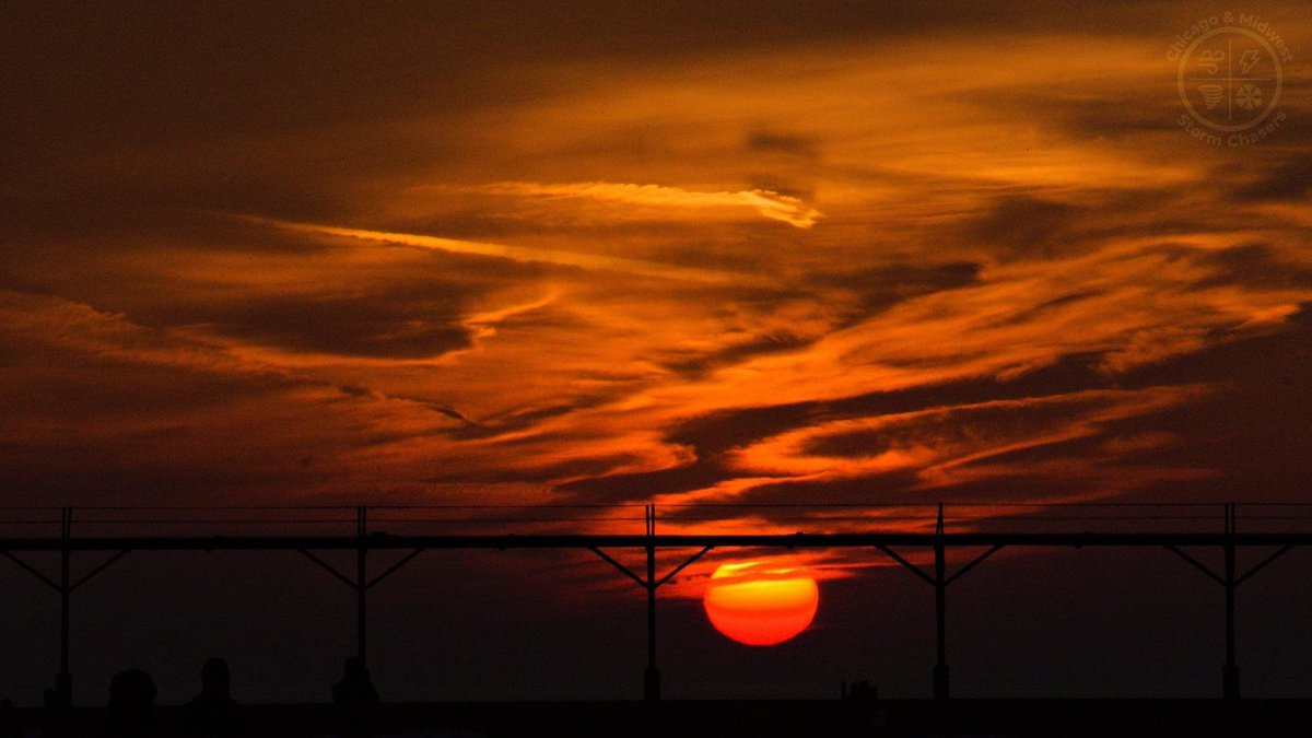 Michigan City, IN - 2/27/21 - Incredible Sunset Picture Over The Pier. #sunset #sunsetphotography #sunsetlovers #sunset_pics #sunsets_captures #sunsetvibes #photography #photooftheday #photo #photographer #photoshoot #Photoshop #michigancity #michigan #lakemichigan