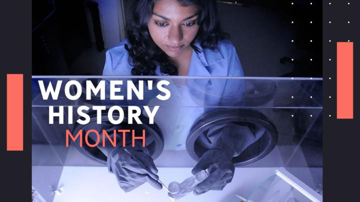 NASA: March is #WomensHistoryMonth, but there are women at NASA contributing every day to the success of our current missions and paving the way for future generations to reach the stars. ✨ Celebrate with us on @WomenNASA and