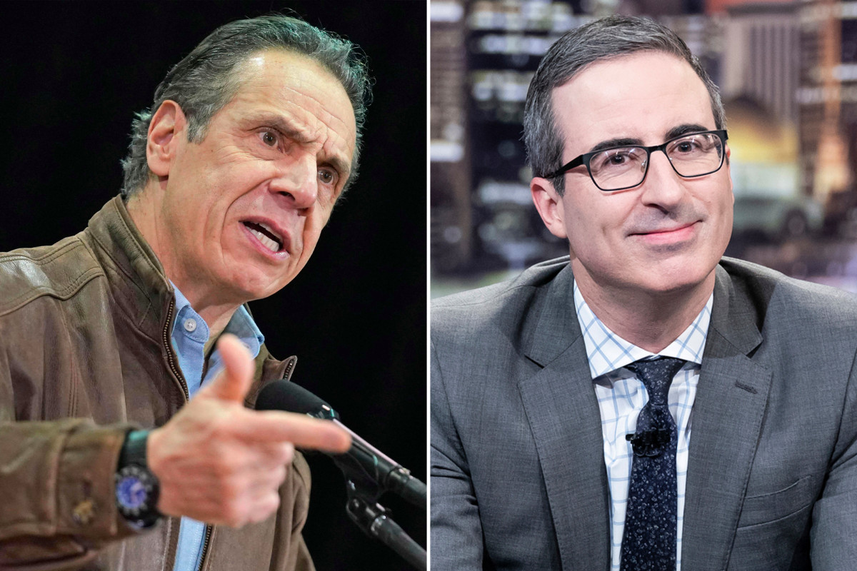 John Oliver roasts Andrew Cuomo amid nursing home, sex harass scandals