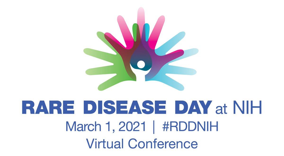 We're looking forward to this session.    #RDDNIH #RelapsingPolychondritis #RaceforRP #RareDiseaseDay2021