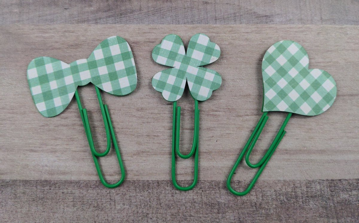 Sneak peek of this week's budget clips! These lucky clips will be in the shop Wednesday at 8 pm cst!! 🍀🍀🍀🍀🇮🇪🇮🇪🇮🇪💚💚💚  #paperclip #plannerclip #etsyshop #irish #stpatricksday #planner #plans #stayproductive #stayorganized #staypositive