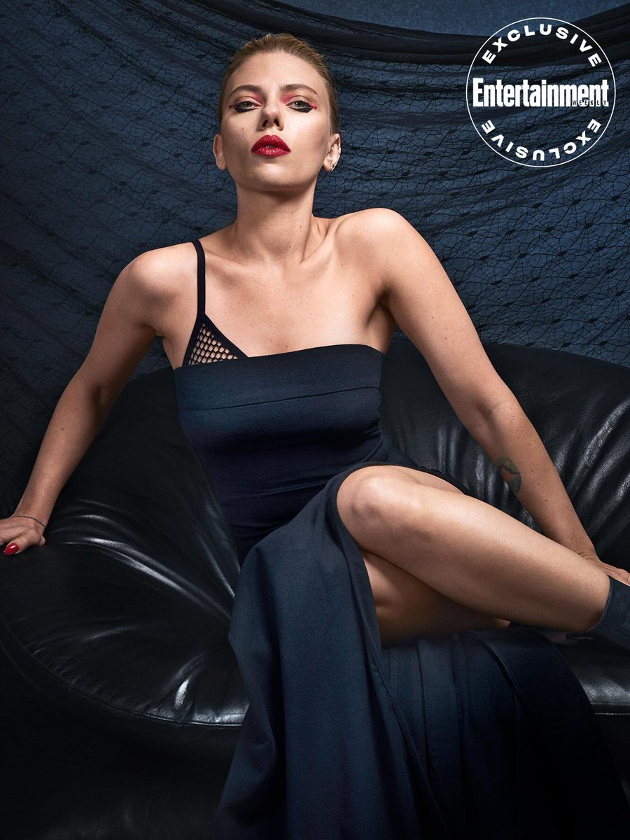 The Queen Slayed this Photoshoot #ScarlettJohansson #BlackWidow