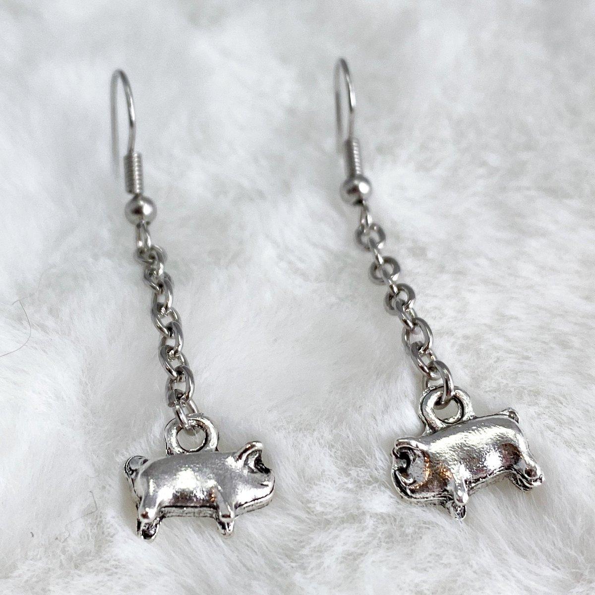 #RT @monalaina: Pig Earrings, Piglet Earrings, Mini Pig Jewelry, Gift for Animal Lover, Farm Earrings, Animal Jewelry, Silver Animal Earrings, S143  #EtsyJewelry #Jewelry #Handmade #EtsyShop #GiftforHer #SmallBusiness #FreeShippin…