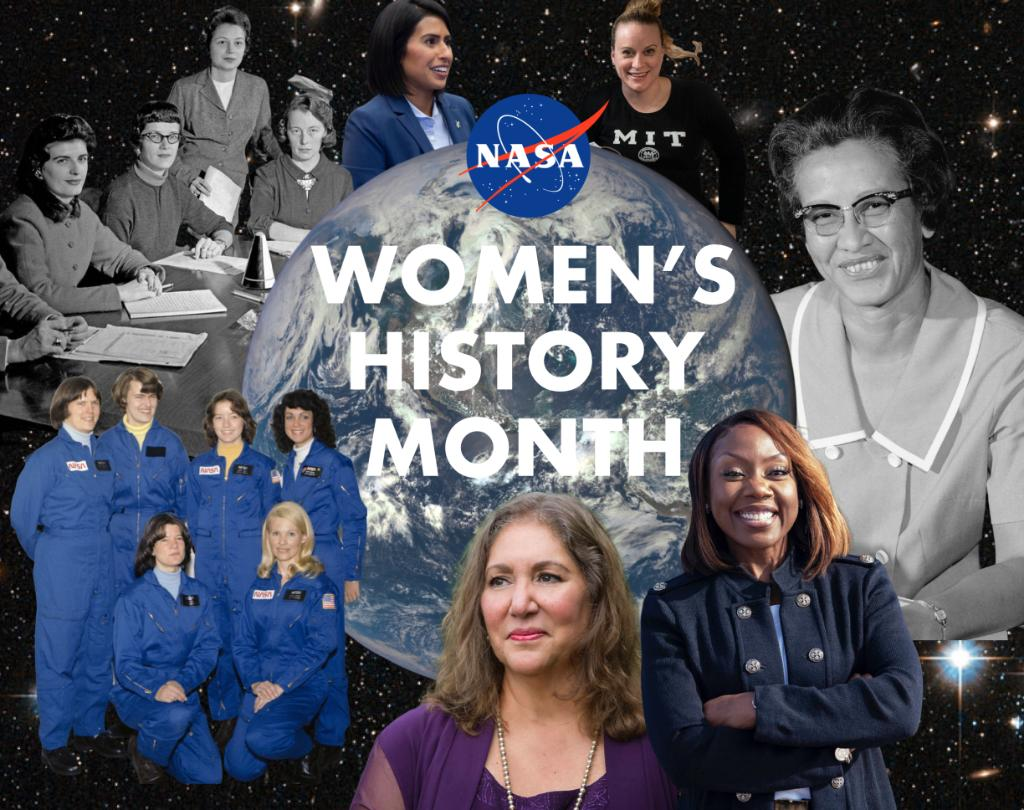 "To the women who weren't afraid to be the ""first."" To the women who not only broke barriers, but paved the way for those that followed. During #WomensHistoryMonth we honor all the @WomenNASA who dared to explore. Follow along all month as we highlight their achievements."