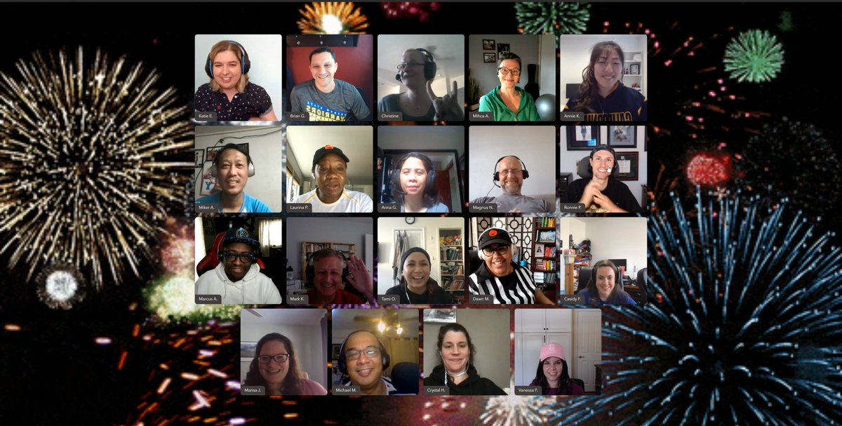 Thanks for tuning into the 2021 Articulate Virtual Retreat! Shout out to everyone who made this possible. We love our team of Articulators!