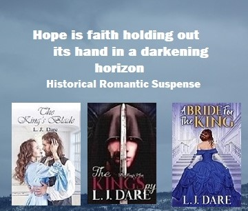@LJDare1 #5Star paperback or e-book reads-Book 1-The King's Blade  Book 2-The King's Spy      Read Ch. 1 excerpts at:   #BookBloggers #sweetromance #ebooks #AltRead #BVS #WednesdayWisdom