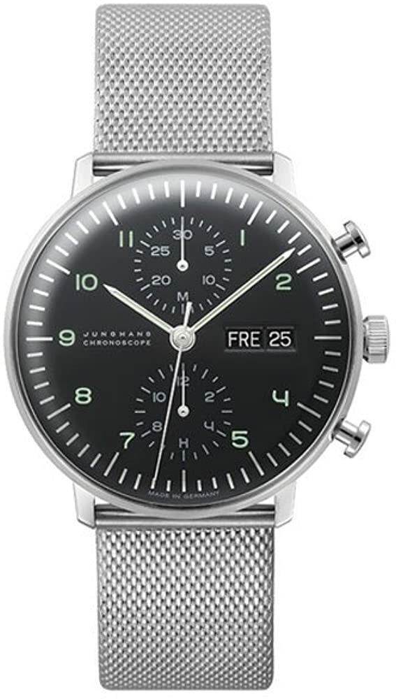 Max Bill Chronoscope Watch 027/4500.44  #watches #clock #jewelry #trends #fashion #amazon #gifts #giftideas @amazon #holiday #blackfriday #thanksgiving #cybermonday #primeday