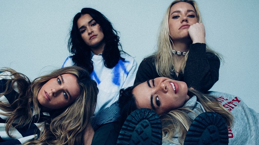 "We're kicking off #WomensHistoryMonth with an interview from alternative-pop band, @theacesofficial! ♠️ Their latest album, ""Under My Influence"",  tells stories from the perspective of growing up, falling in love, and self-discovery.  🔗"