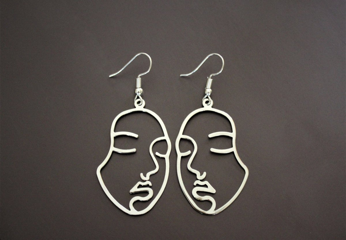 """Thanks for the kind words! ★★★★★ """"Beautiful and well-crafted. The person I gave them to loved them!"""" Sye W.  #etsy #women #brass #earlobe #people #earwire #avantgarde #valentinesday #anniversary #longearrings"""