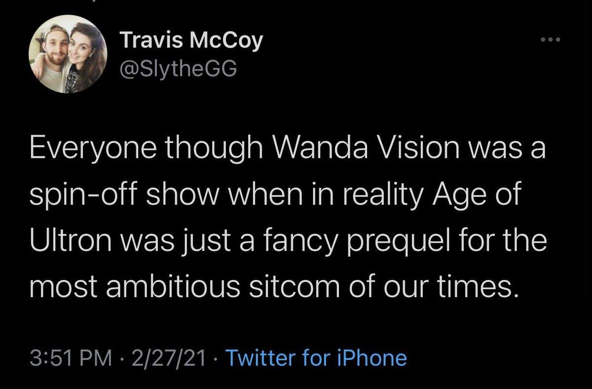 Absolutely agree. #WandaMaximoff #WandaVision #Vision #AgeOfUltron #ElizabethOlsen #PaulBettany #Marvel #Disney #DisneyPlus