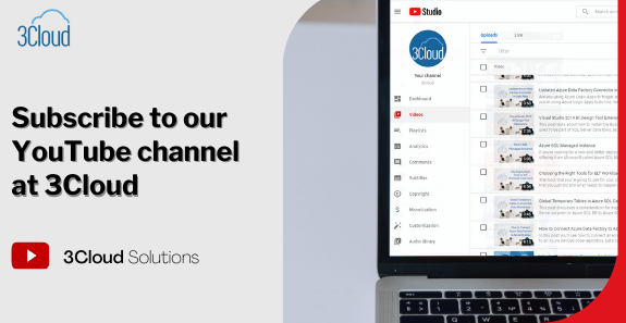 Want to learn more about your Azure environment? Subscribe to our #YouTube channel for Free Webinars, #Azure Every Day videos and more!  #remotelearning #Webinars #businessdevelopment #learn #BusinessIntelligence #learning #learntocode #Microsoft #cloud