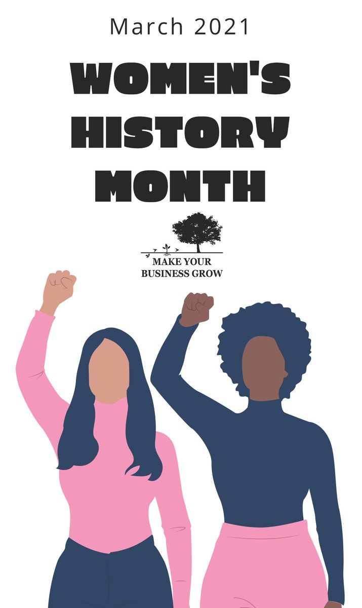 So many women came before me to fight for women's rights and achieved so much to make the way for me easier. We celebrate the amazing women who contributed to United States history and made this world a better place #WomensHistoryMonth #WomenOwnedBusinesses  #MakeYourBusinessGrow