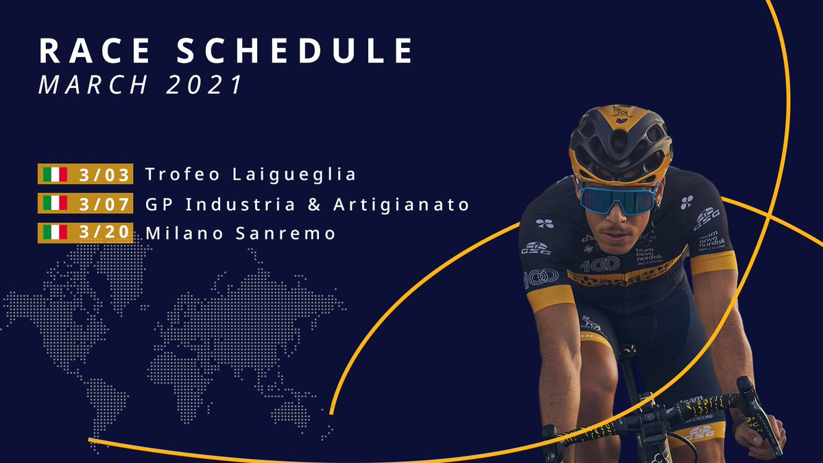 🚴‍♂️ It's race week. Keep up to date with our schedule here buff.ly/37WBb1Y