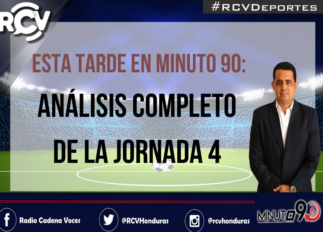 🔴#RCVEnVivo   Minuto 90   ¡No se pierda #Minuto90 con @Yanuariopaz, Delio Boquín, Alberto Avilés, Russel Ramos y Fredy Nuila!   RCV📻 93.3FM   580 AM #TG 98.1FM   1190 AM #SPS