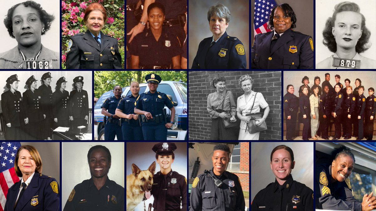 It's #WomensHistoryMonth   #NPD recognizes the women who have served the City of Norfolk, and we appreciate the impact their efforts have made on our Department. #Trailblazers