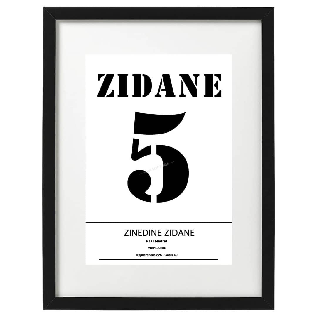 Zinedine Zidane art prints available now. Free UK delivery. Link in bio #footballart #etsy #etsyshop #zidane #RealMadrid #HalaMadrid #france98