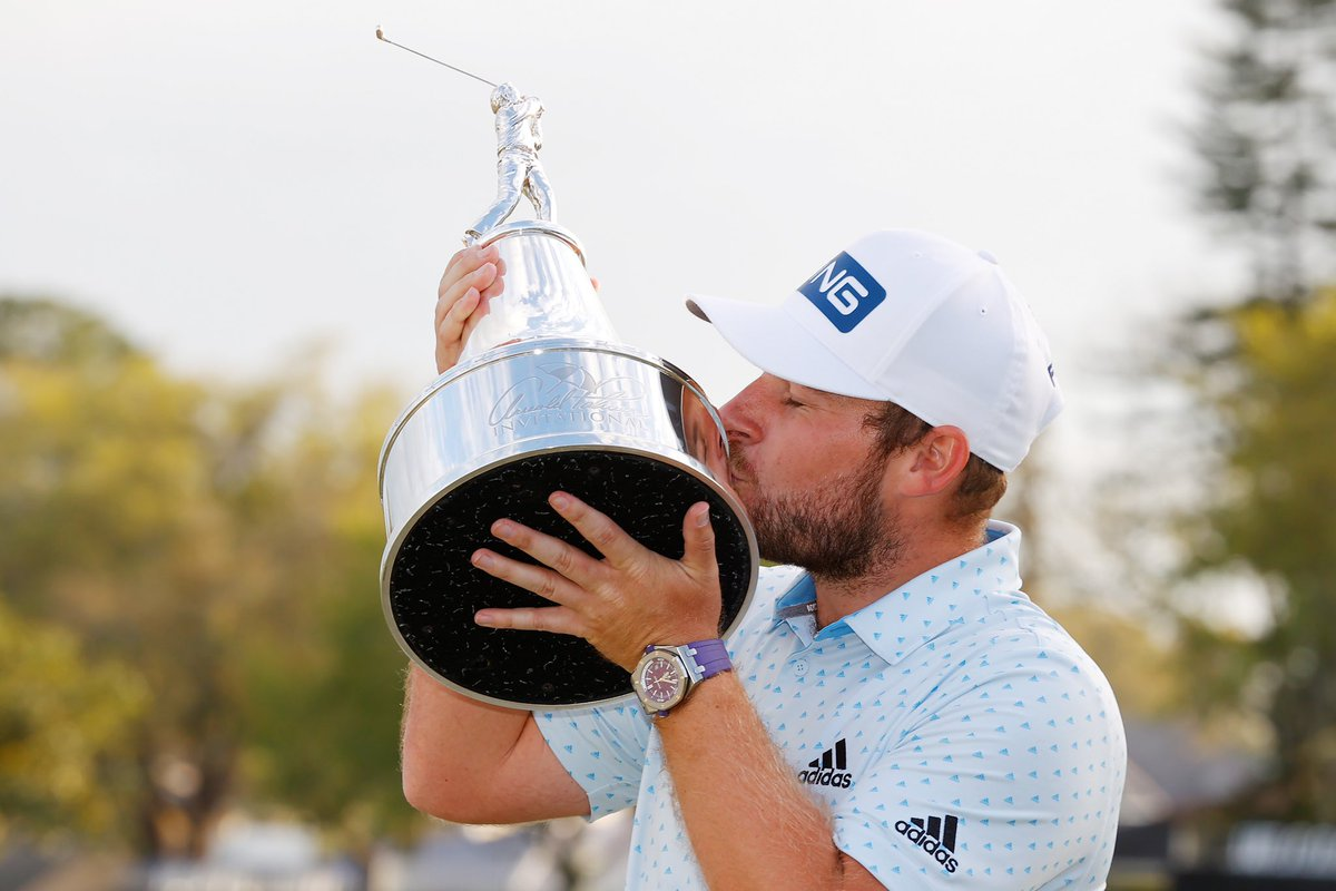 One year ago this week. Special memories for @TyrrellHatton & @modestgolf.   Excited for the @APinv starting on Thursday! 🏆🇺🇸
