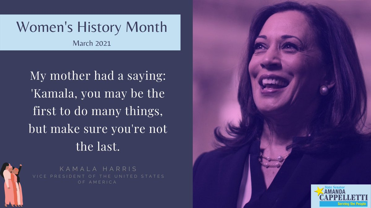 Happy #WomensHistoryMonth! This month, we will be featuring some #WomanCrushWednesday posts about some inspiring women around PA. But for the month's kickoff, we're highlighting the woman in the White House.