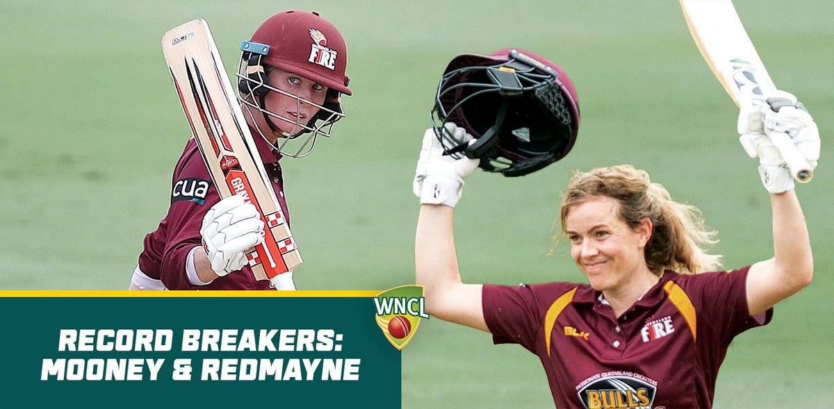 We saw a huge day of #WNCL records in yesterdays match between Queensland and Western Australia!   ✅ Sixth 250+ partnership in WNCL history ✅ Fourth highest team total in WNCL history ✅ Highest partnership for any team v WA  More 👇
