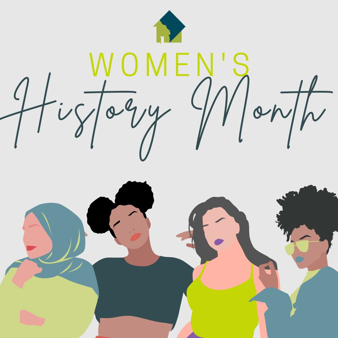 Today marks the first day of Women's History Month.  This is an important month for us at DASH as we are an organization founded by a woman, led by a woman, and serve a population made up largely of women -- including trans women.  #WomensHistoryMonth #DASHDC #SupportSurvivors