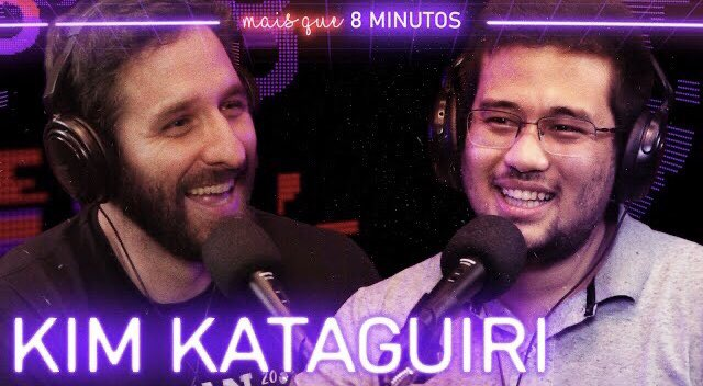 No ar o Mais que 8 Minutos #035. Hoje é com o @KimKataguiri. Assiste ae!