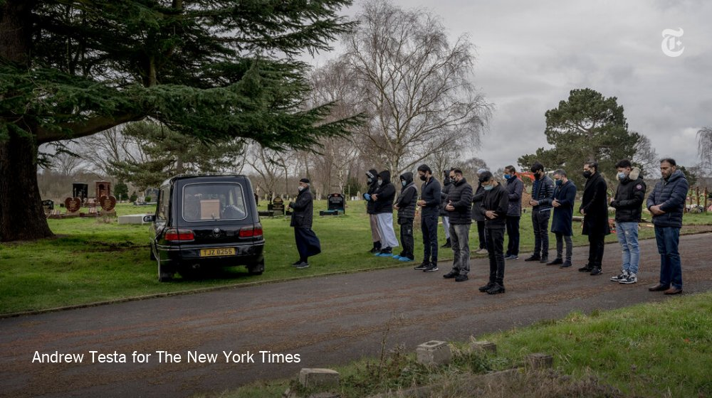 When Jack O'Malley opened his family business as an undertaker four years ago, he expected to oversee three burials a week. Now the pace of loss has quickened. In one week in February, he arranged nine bereavements in two days.