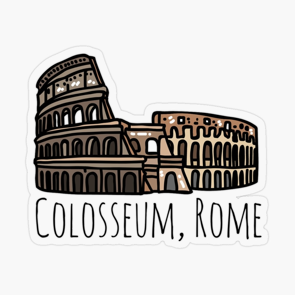 Colosseum design available on many products in my RedBubble Shop! Get yours here👇 🛍   #findyourthing #redbubble #redbubblesticker #sticker #art #colosseum #colosseumsticker #colosseumrome #rome #romesticker #romans #ancient #history #travel #explore