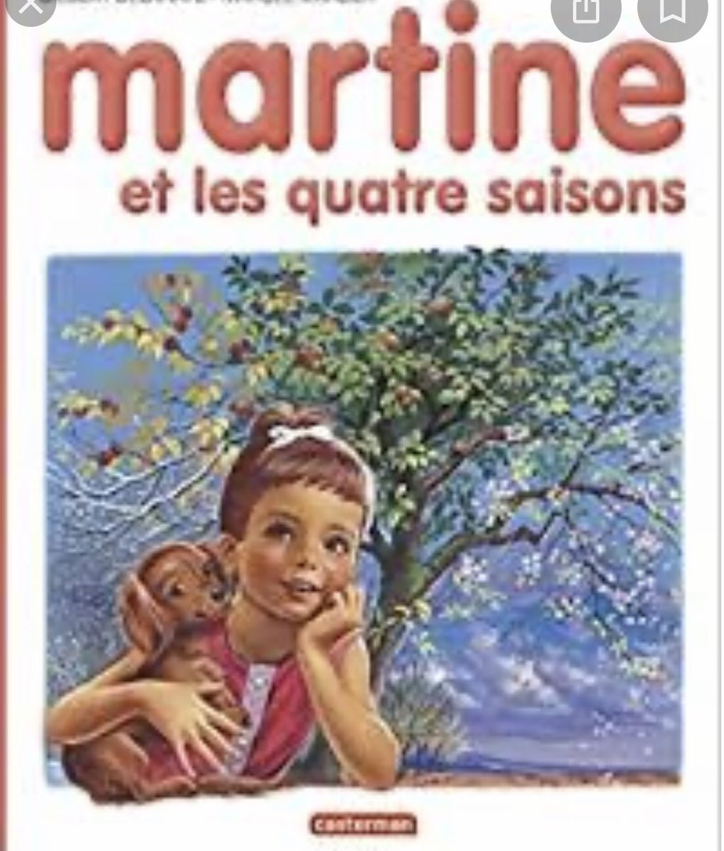 In reply to @BethFratesMD  This is my first childhood book! Martine was full of joy and happiness! What was yours? @MCoronelMD  @rayahsawaya  @DCharabaty  @HafizaKMD  @ChaabanMD  @GallaherCaren  @drmonalidesai  @alvin  #FirstNovel